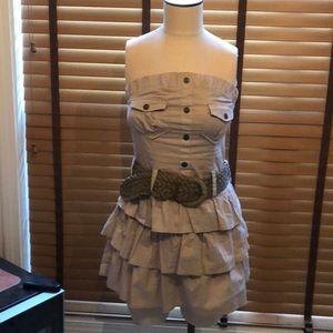 Body Central Mini Strapless Dress